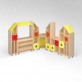 """Детская мебель """"Геометрия"""""""